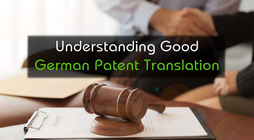 German patent translation inwhatlanguage for Farcical german translation